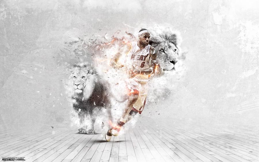 LeBron James Heat 2014 2560x1600 Wallpaper