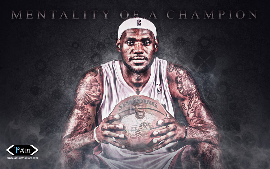 LeBron James Mentality Of Champion 1680x1050 Wallpaper