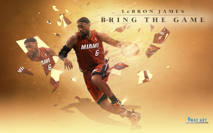 LeBron James Miami Heat 2014 1680x1050 Wallpaper