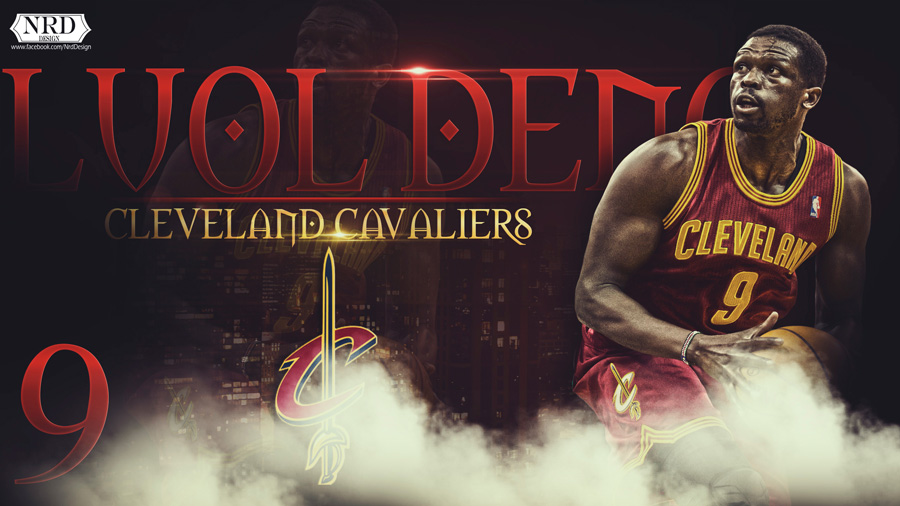 Luol Deng Cleveland Cavaliers 2014 2560x1440 Wallpaper