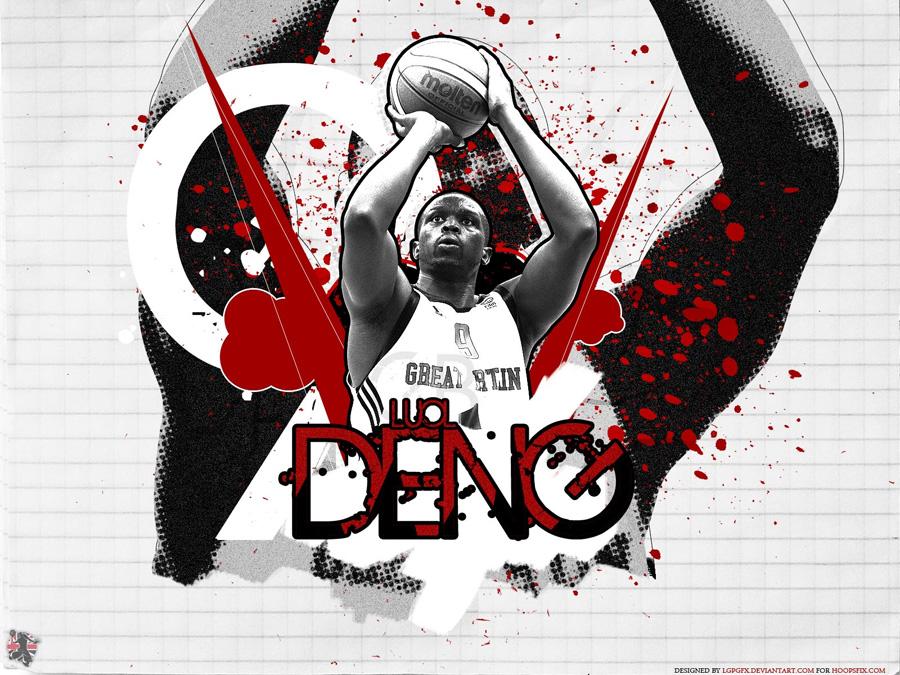 Luol Deng UK Team 2011 Wallpaper