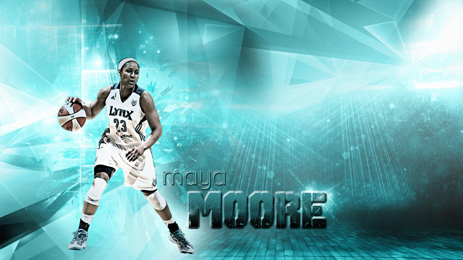 Maya Moore Lynx 2013 1920x1080 Wallpaper