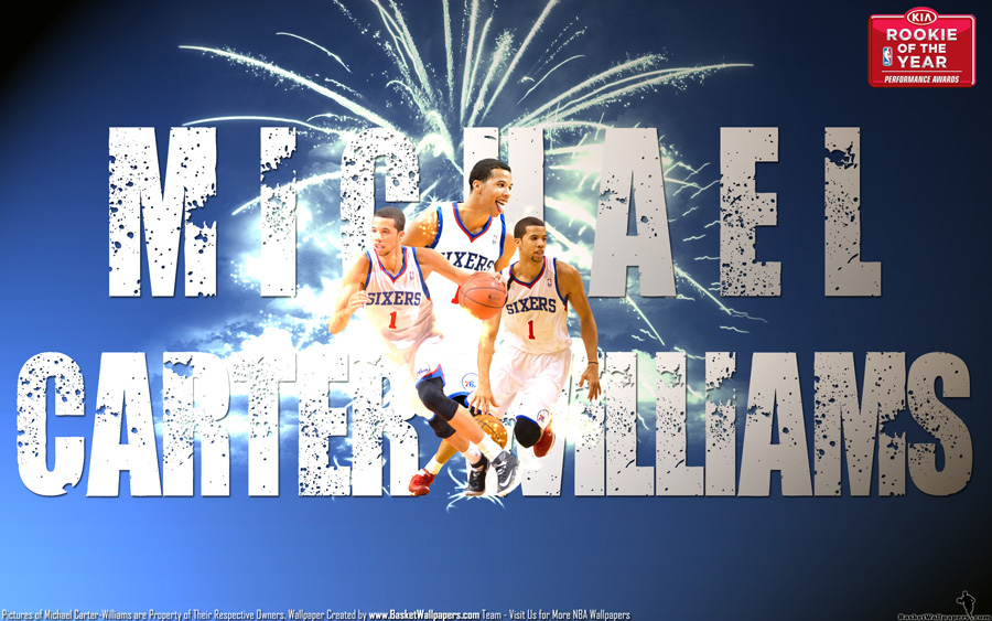 Michael Carter-Williams 2014 Rookie of The Year Wallpaper