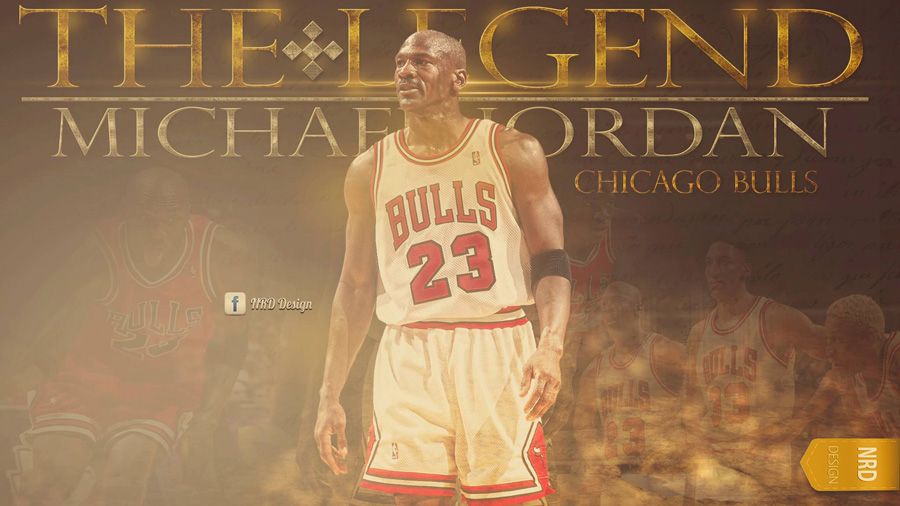 Michael Jordan Bulls HD 1920x1080 Wallpaper