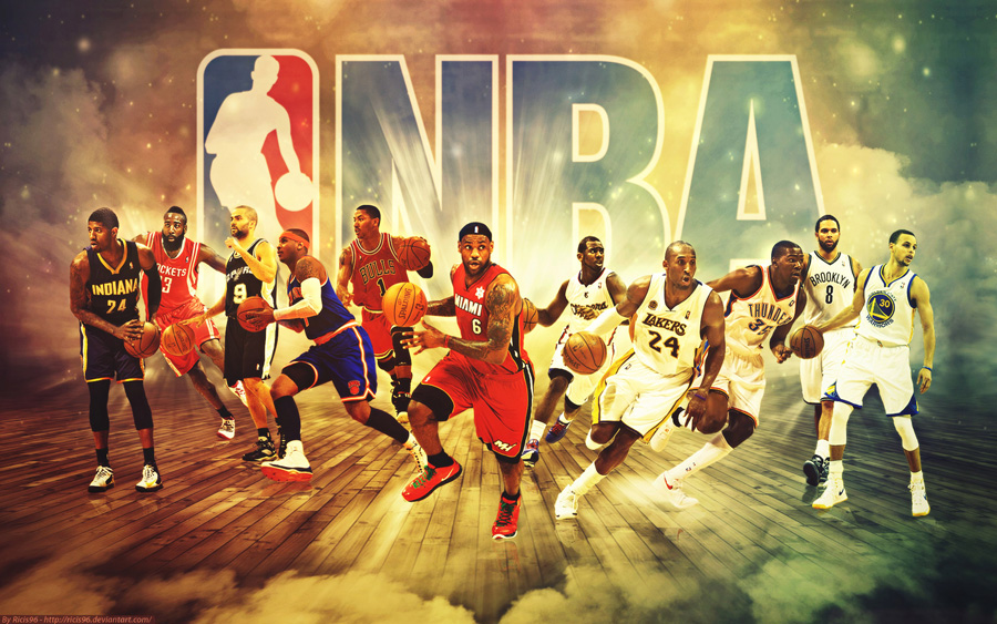 NBA Season 2013-2014 Stars 1920x1200 Wallpaper