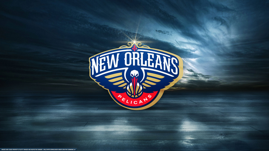 New Orleans Pelicans Logo 2560x1440 Wallpaper