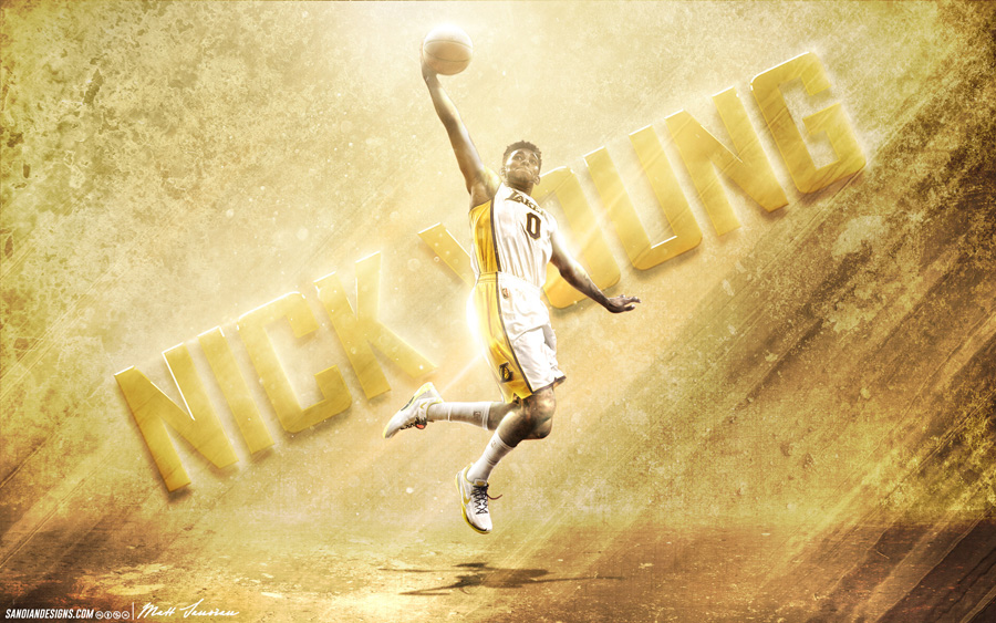 Nick Young LA Lakers 2014 Wallpaper