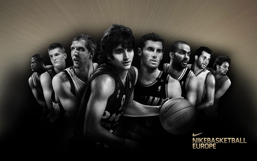 Nike Basketball European Stars 1920x1200 Wallpaper