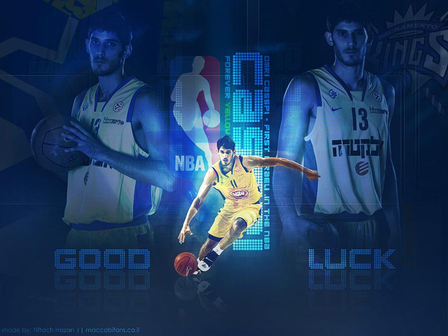 Omri Casspi First Israeli In NBA Widescreen