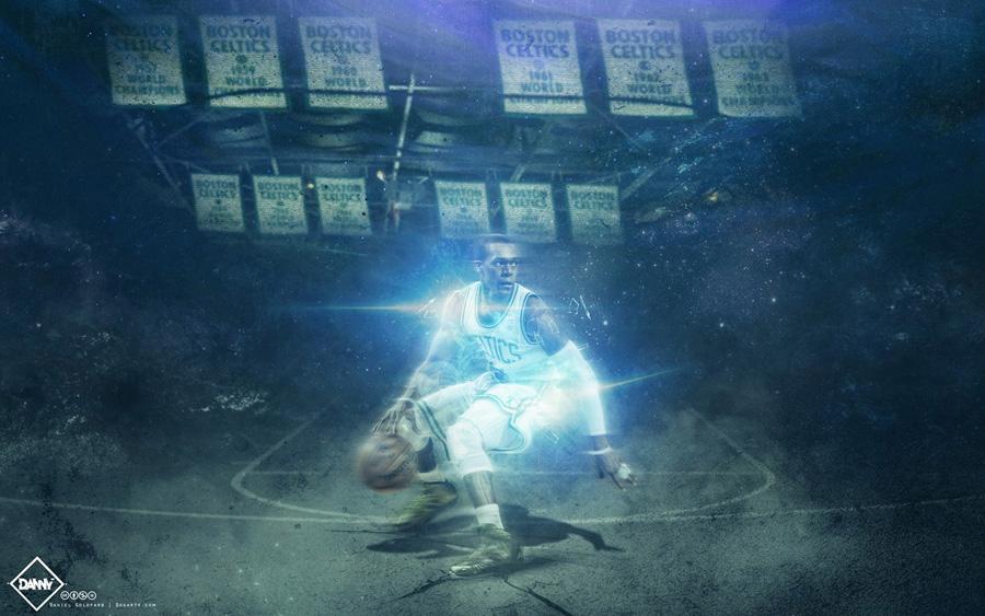 Rajon Rondo Celtics 2014 Wallpaper