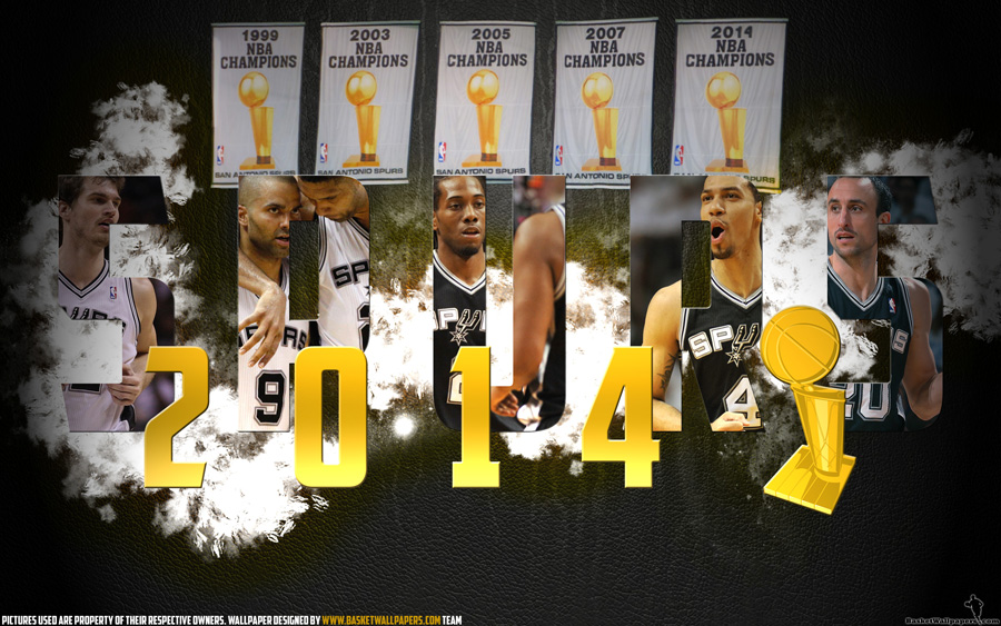 San Antonio Spurs 2014 NBA Champions Wallpaper