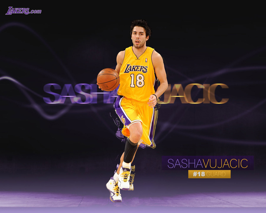 Sasha Vujacic 1280x1024 Wallpaper