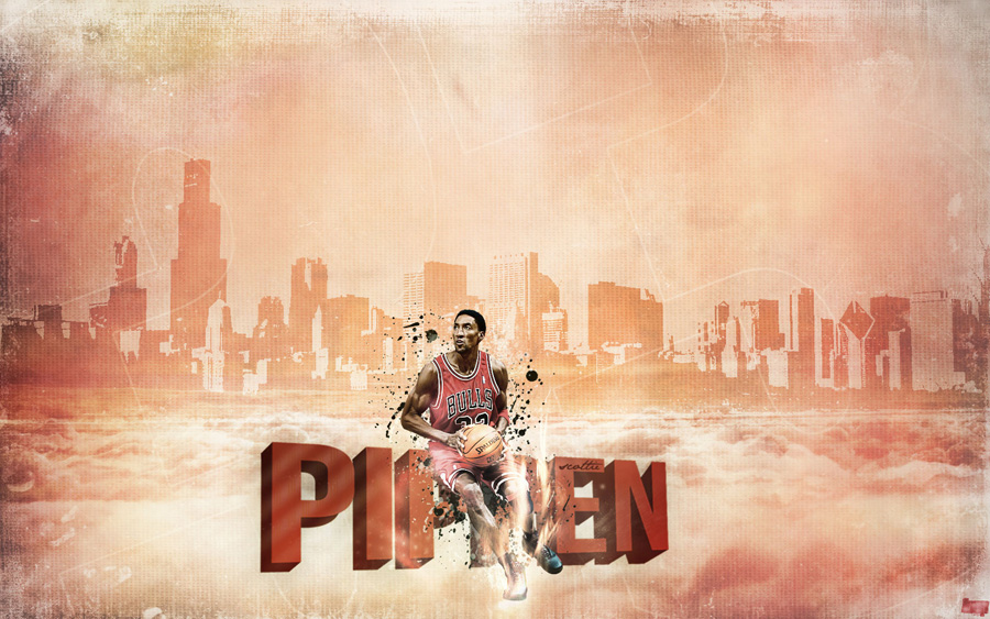 Scottie Pippen Mist City 1680x1050 Wallpaper