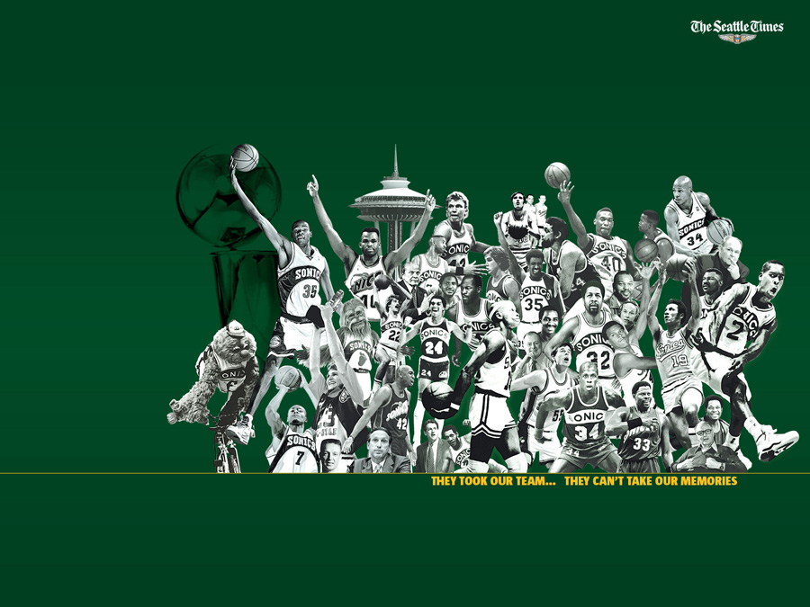 Seattle SuperSonics Memories Wallpaper