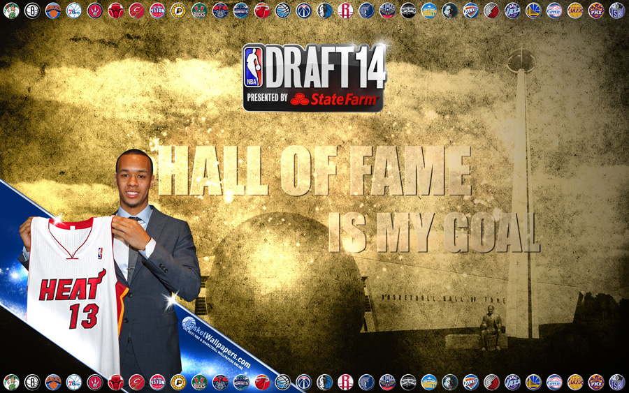 Shabazz Napier Heat 2014 NBA Draft Wallpaper