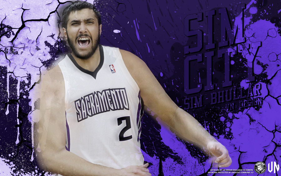 Sim Bhullar Sacramento Kings 2014 Wallpaper