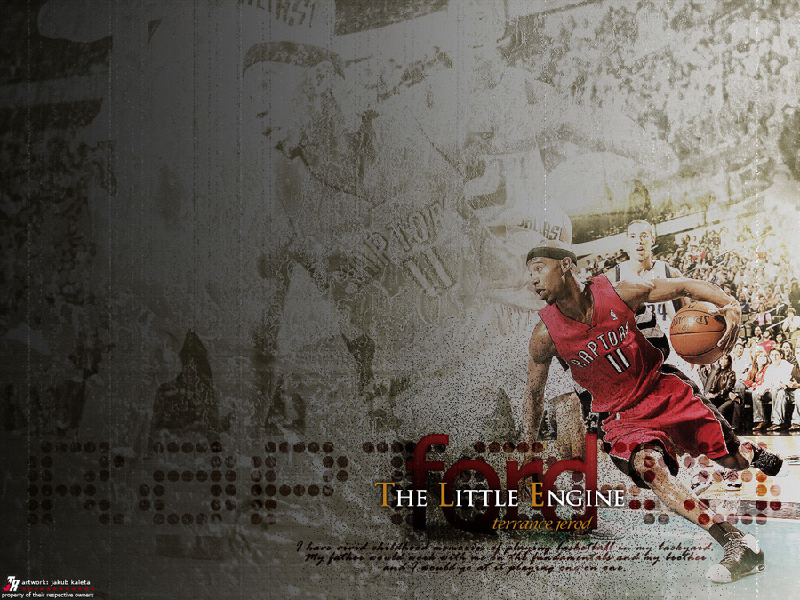T. J. Ford Raptors Wallpaper
