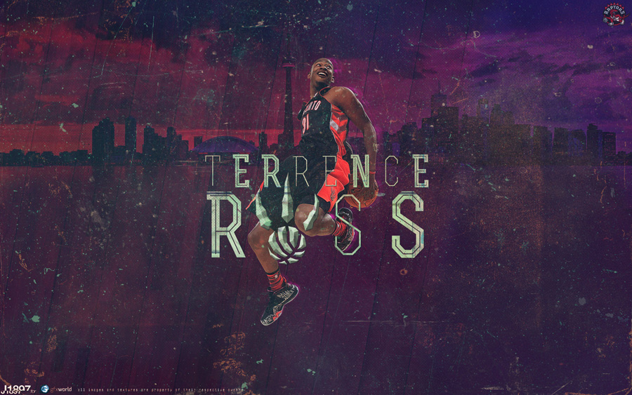 Terrence Ross Raptors Dunk 2013 1920x1200 Wallpaper