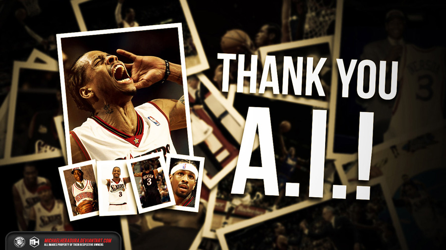 Thank You Allen Iverson 2014 Wallpaper