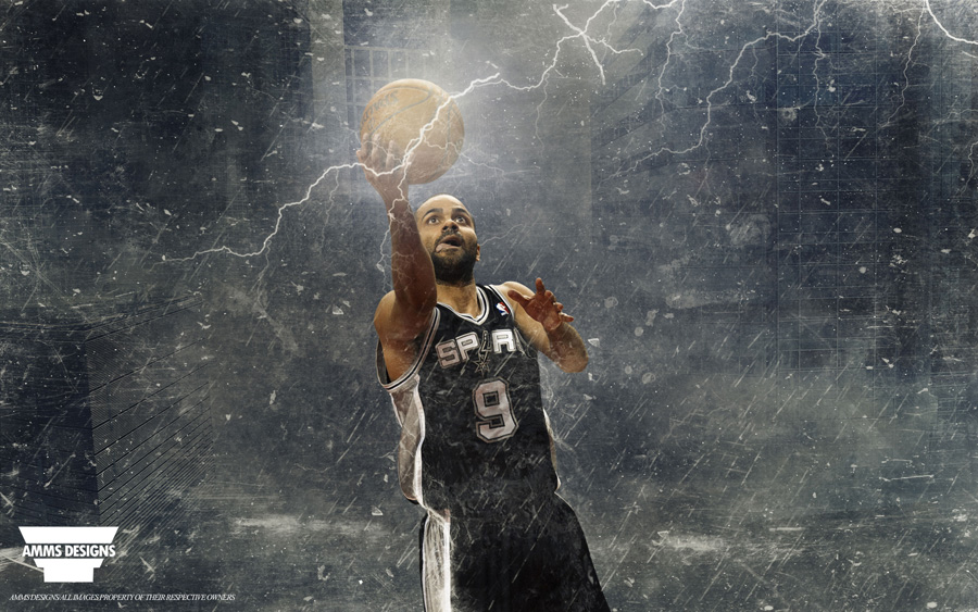 Tony Parker Spurs 2014 Wallpaper