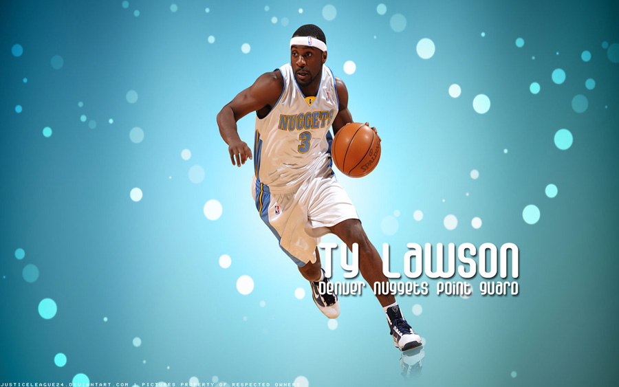 Ty Lawson Nuggets Widescreen Wallpaper