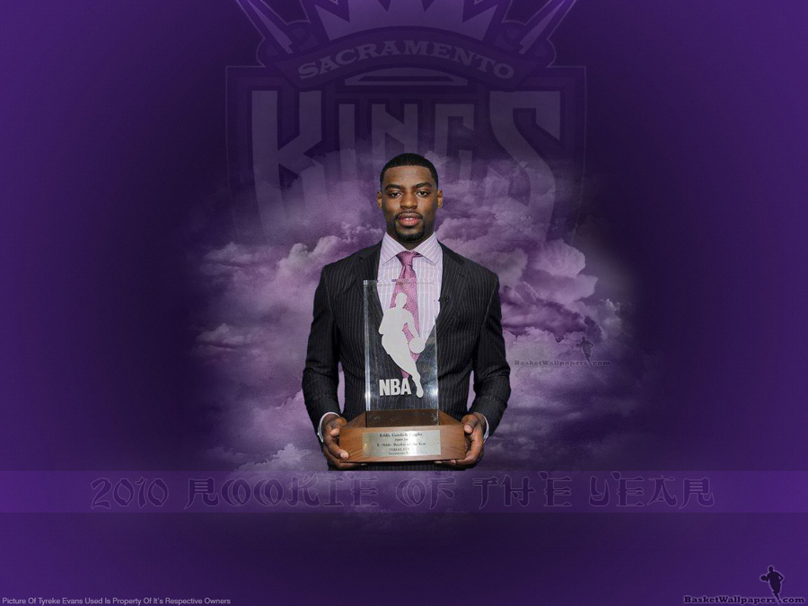 Tyreke Evans 2010 Rookie Of The Year Wallpaper