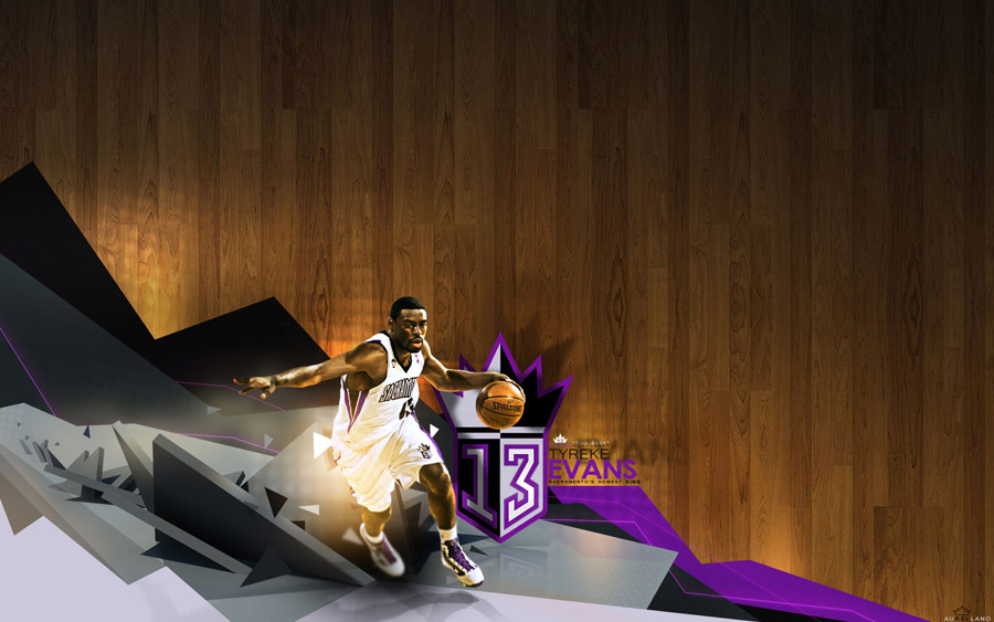 Tyreke Evans Sacramento's New King Wallpaper