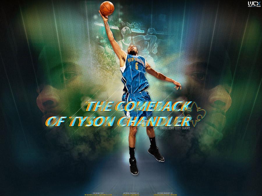 Tyson Chandler Hornets Wallpaper