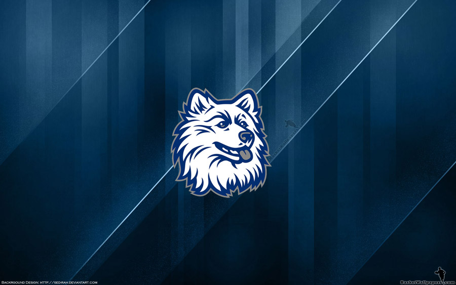 UCONN Huskies Logo Widescreen Wallpaper