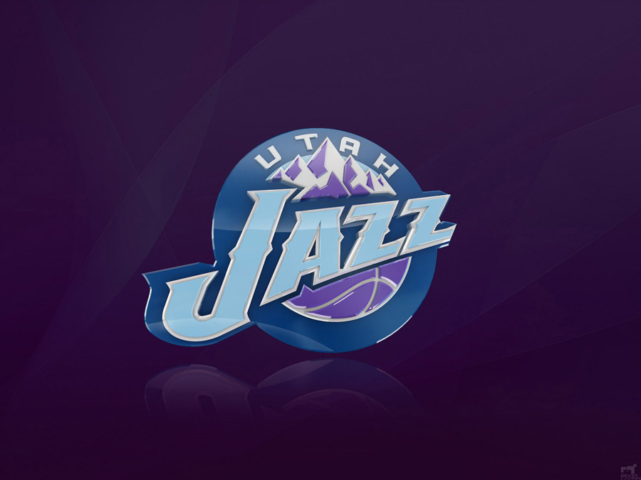 Utah Jazz 3D Logo Wallpaper