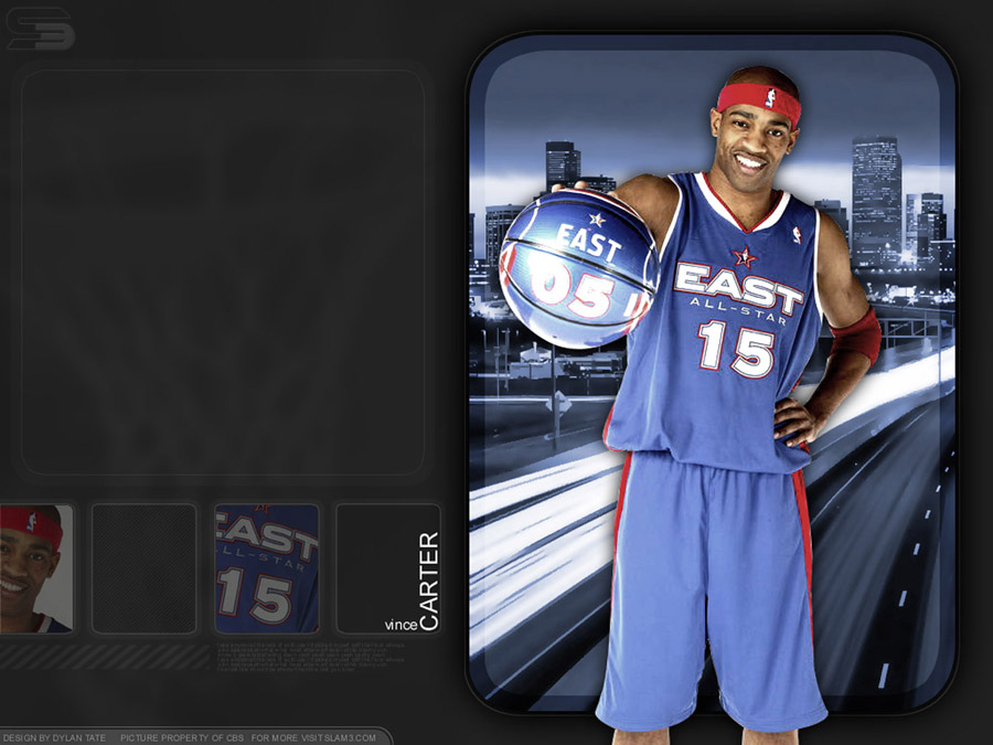 Vince Carter All Star 2005 Wallpaper
