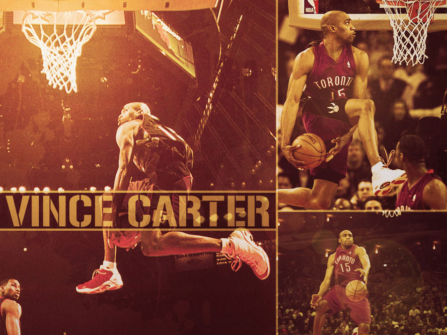 Vince Carter Between The Legs Dunk Wallpaper
