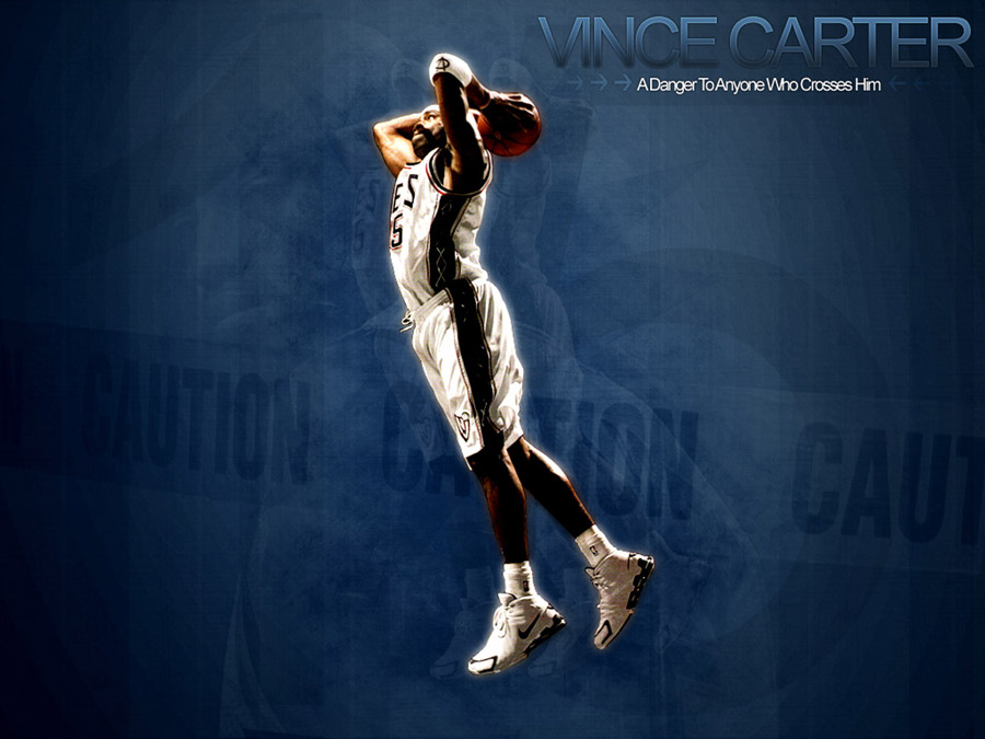 Vince Carter Nets Dunk Wallpaper
