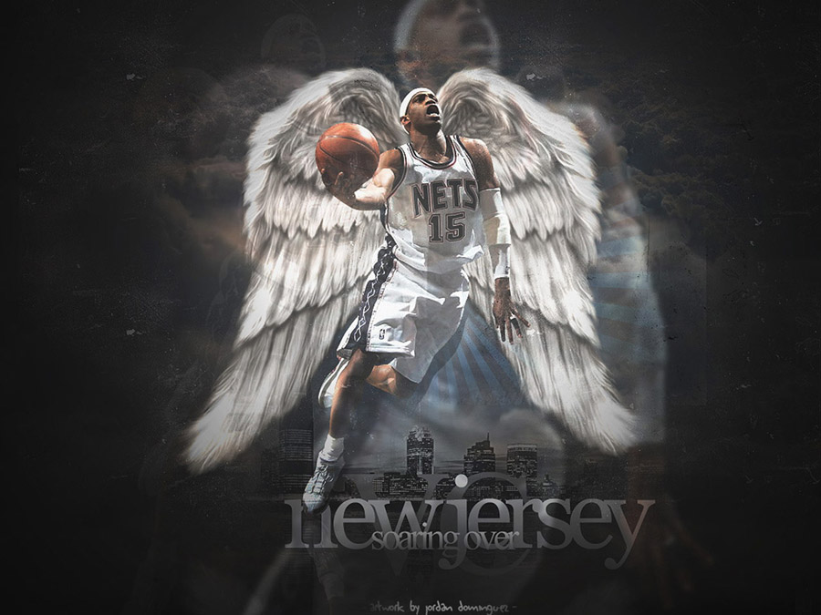 Vince Carter Nets Wings Wallpaper
