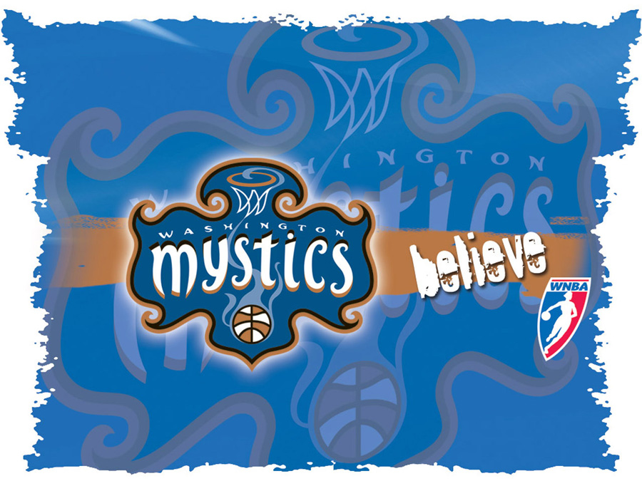 Washington Mystics Logo Wallpaper