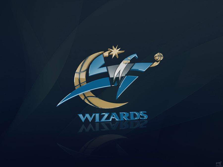 Washington Wizards 3D Logo Wallpaper