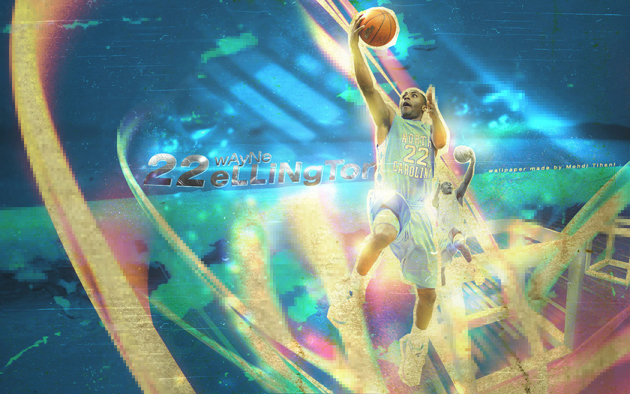Wayne Ellington North Carolina Wallpaper