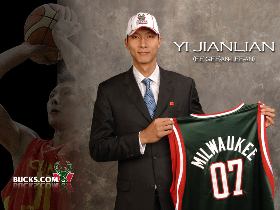 Yi Jianlian Bucks Wallpaper