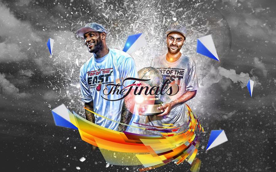 2013 NBA Finals James Parker 1280x800 Wallpaper