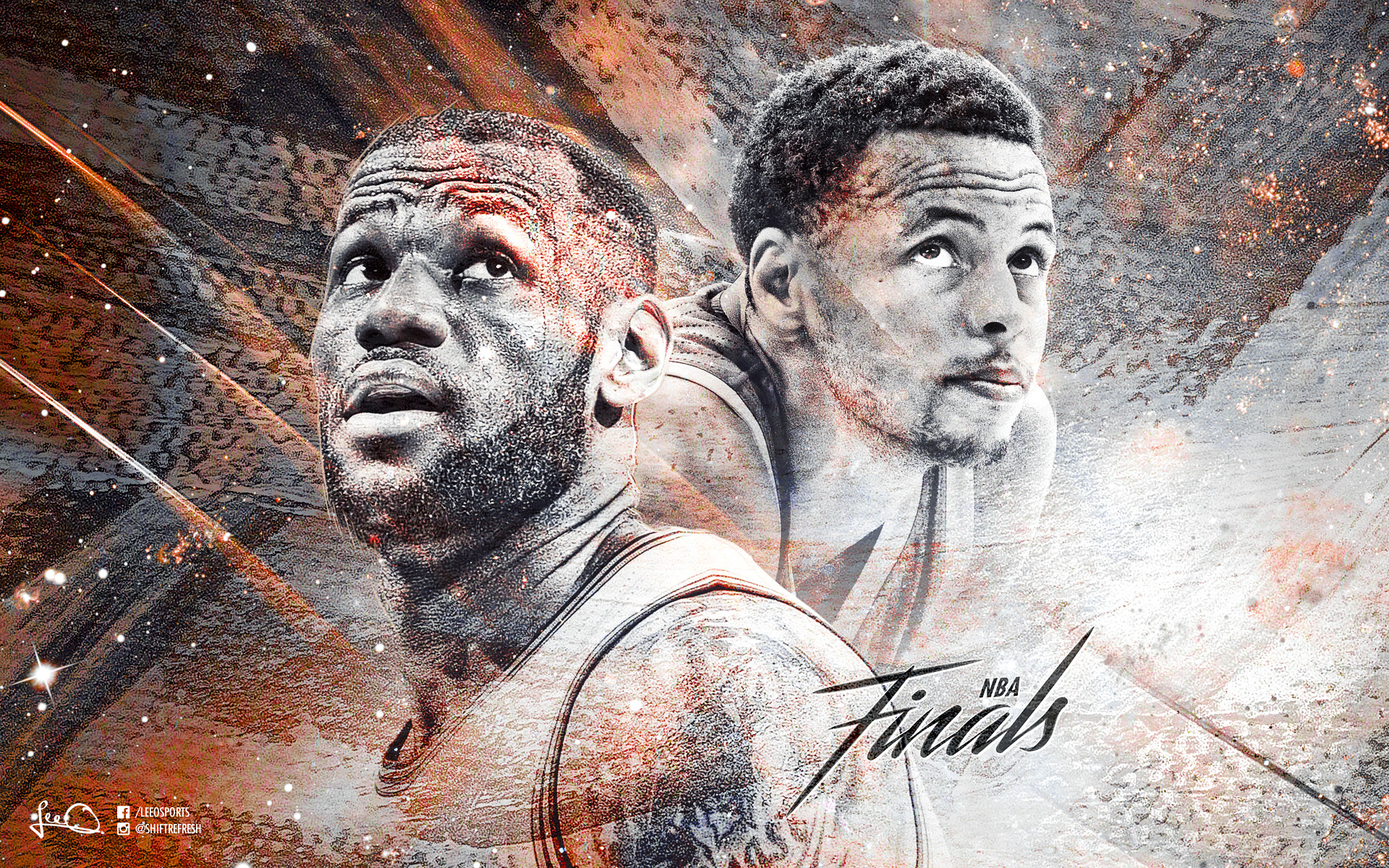 2015 NBA Finals LeBron vs Curry