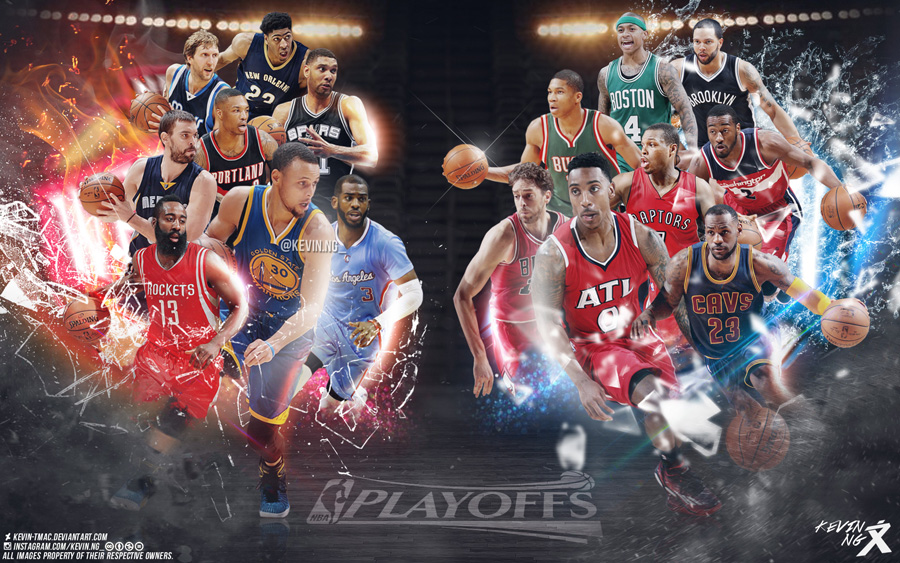 2015 NBA Playoffs Stars 1920x1200 Wallpaper