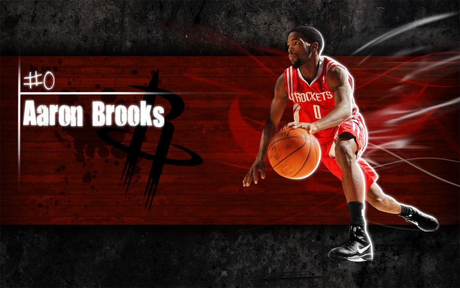 Aaron Brooks Widescreen Wallpaper