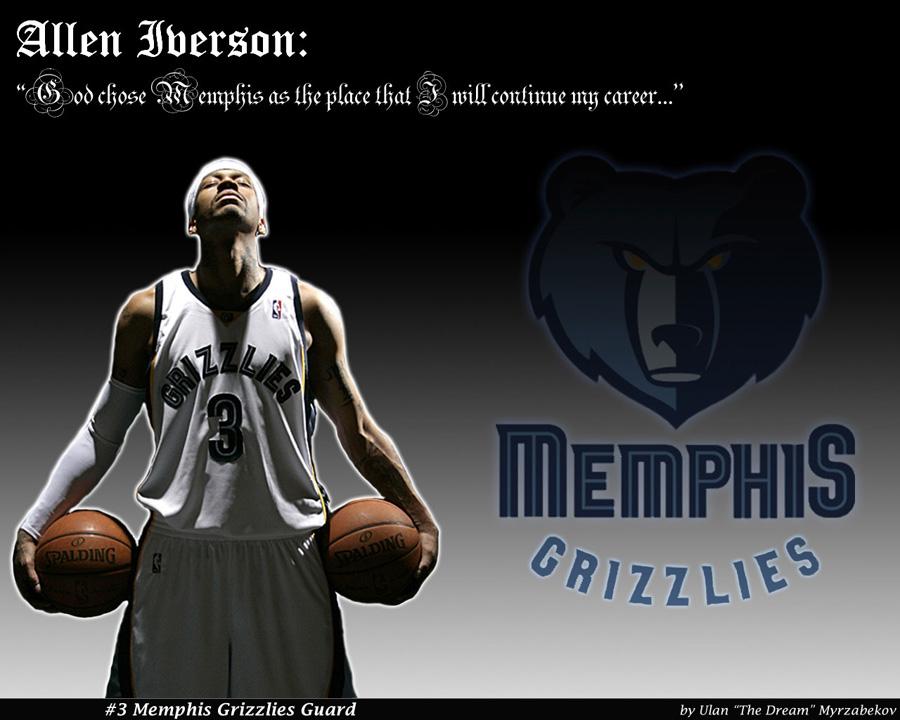 Allen Iverson Memphis Grizzlies Wallpaper