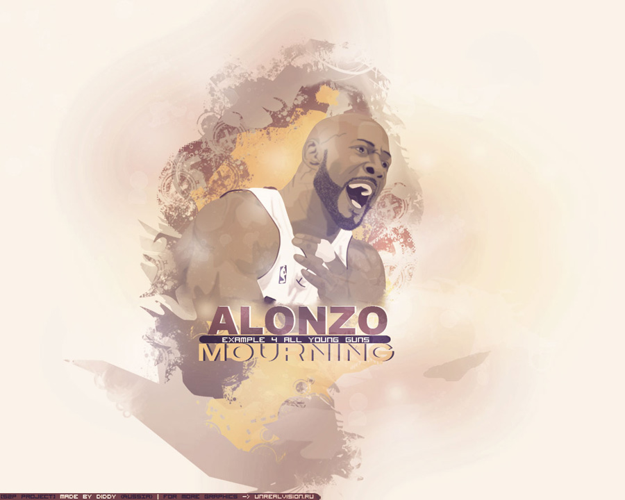 Alonzo Mourning Example Wallpaper