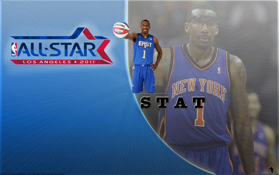 Amare Stoudemire All-Star 2011 Widescreen Wallpaper