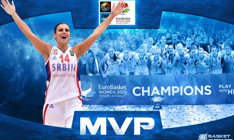 Ana Dabovic 2015 Eurobasket MVP Wallpaper