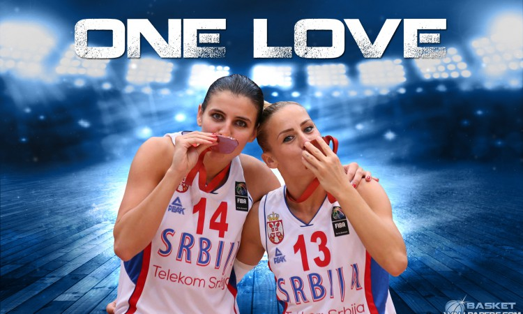 Ana and Milica Dabovic One Love Wallpaper