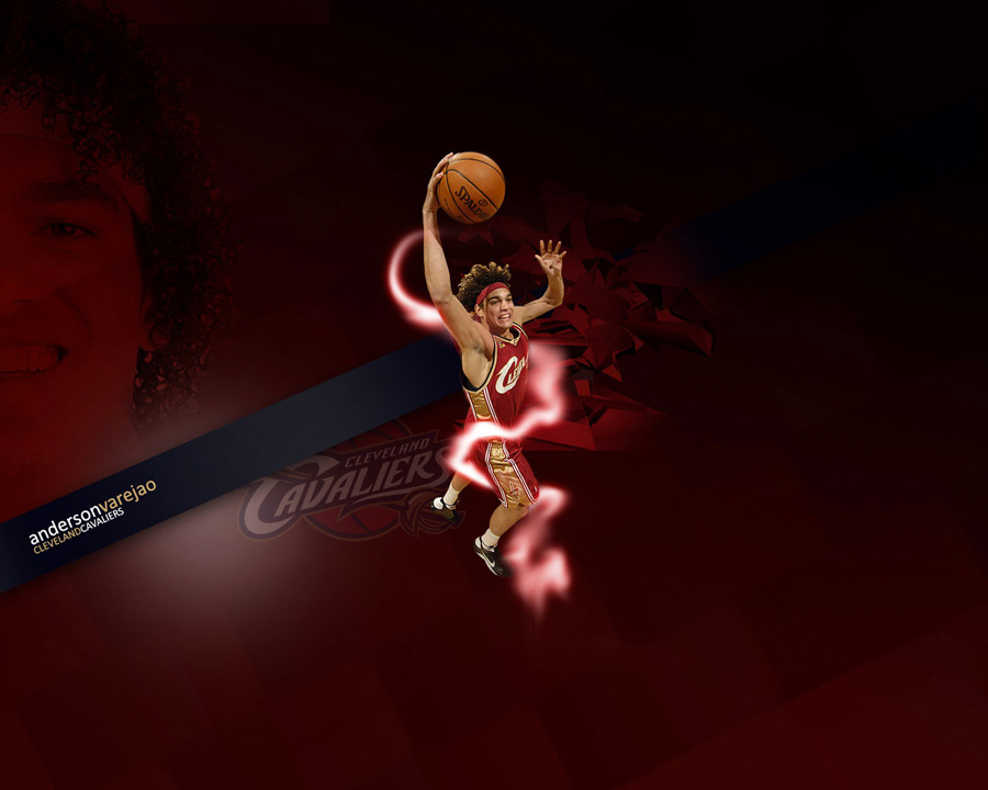 Anderson Varejao Cavs Dunk Wallpaper