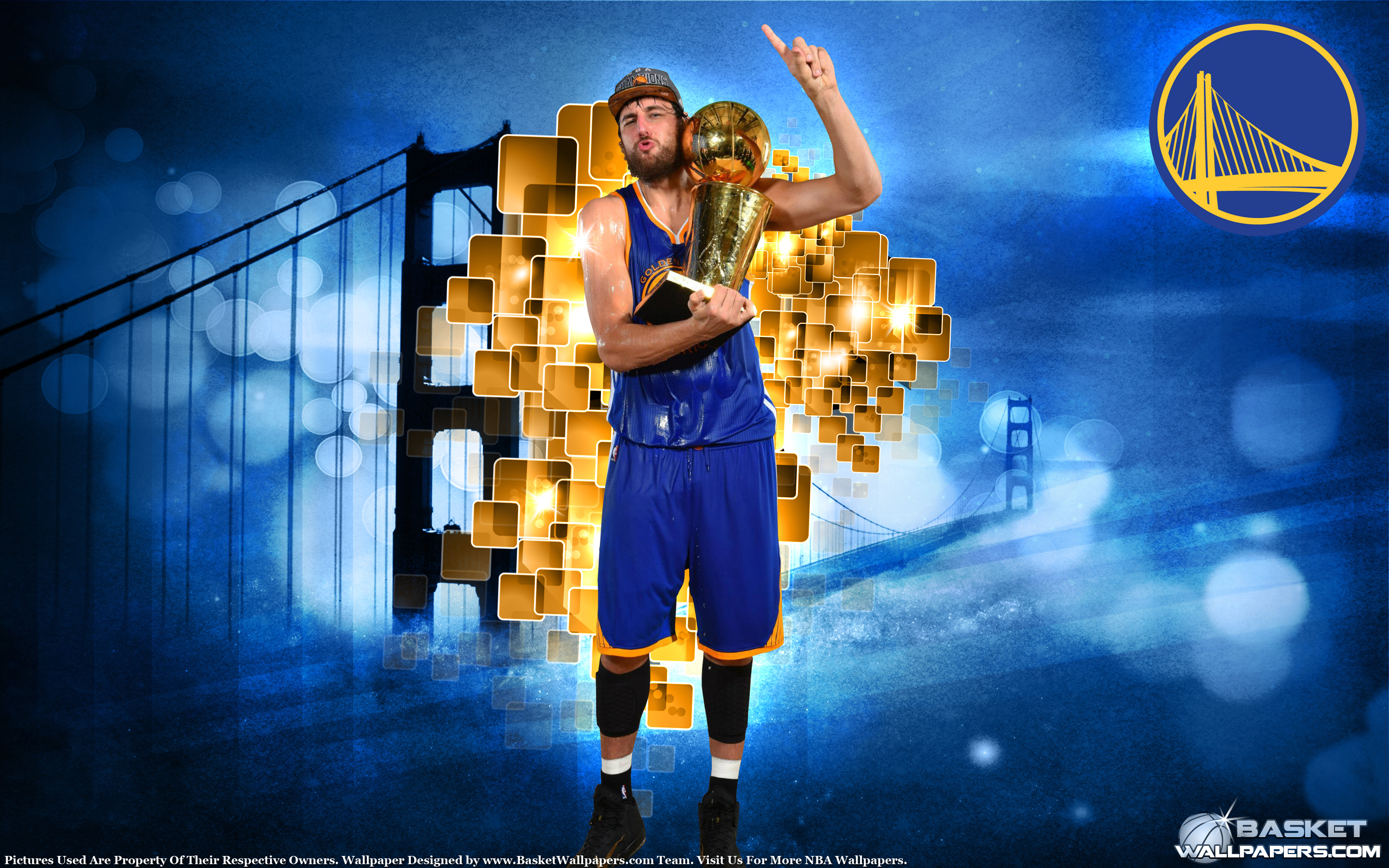Andrew Bogut 2015 NBA Champion Wallpaper