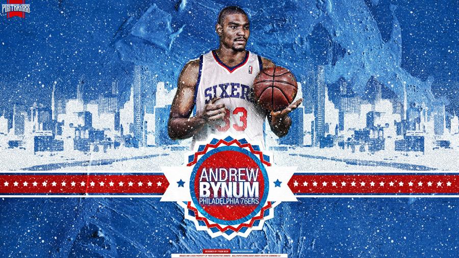 Andrew Bynum Philadelphia 76ers 2560x1440 Wallpaper